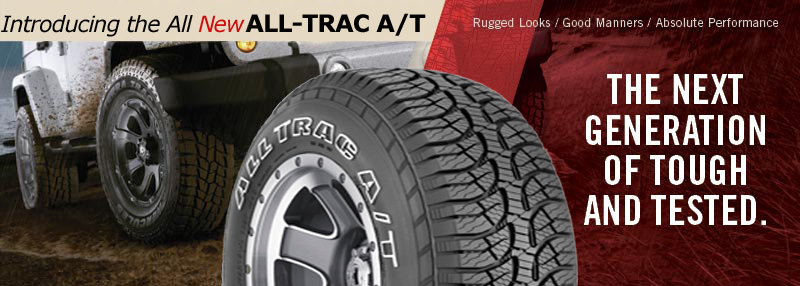 tread pattern on Hercules Premier All-Trac all terrain tyres