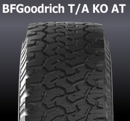all terrain pattern bfgoodrich ta ko at tyre