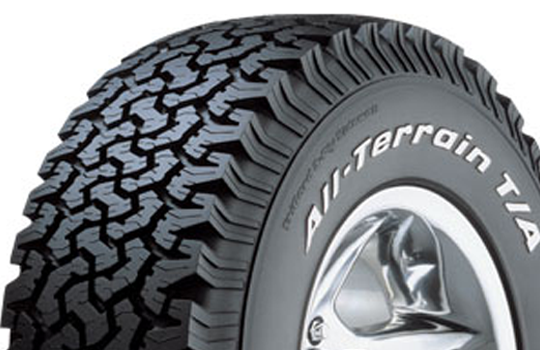 bfgoodrich ta ko at all terrain tyre